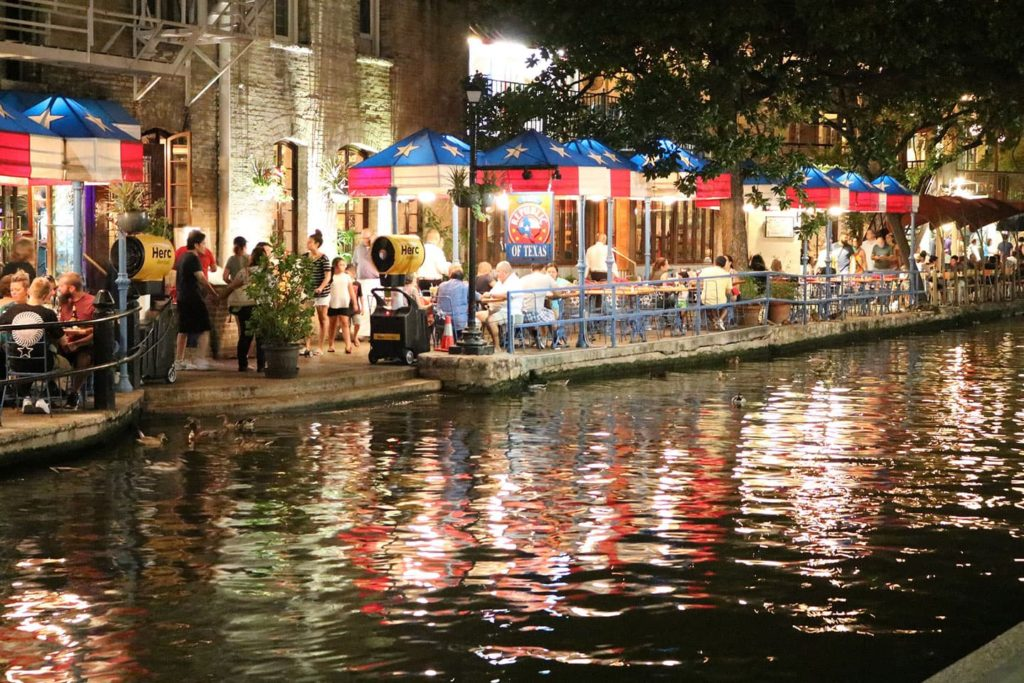 downtown san antonio by the riverwalk