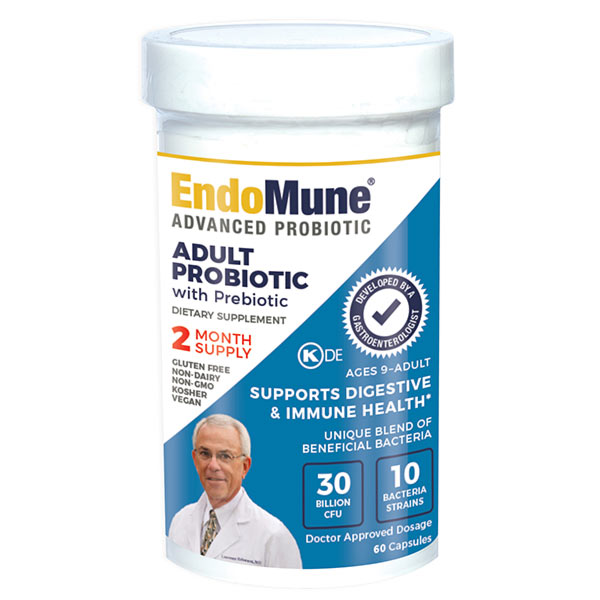 EndoMune Advanced Probiotic Bottle
