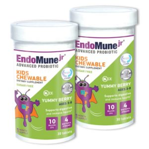 EndoMune jr Advanced Probiotic Twinsie Pack