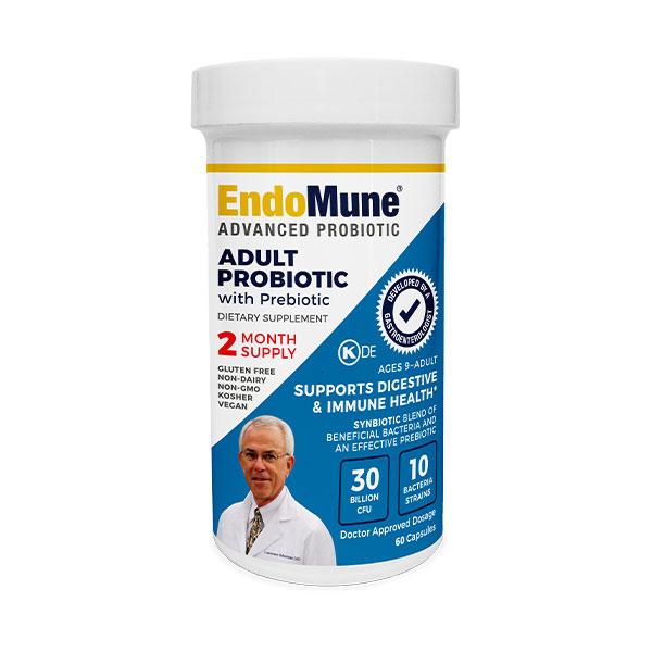 EndoMune Adult Probiotic Bottle