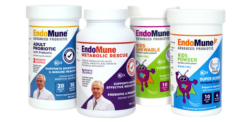 group of EndoMune probiotics