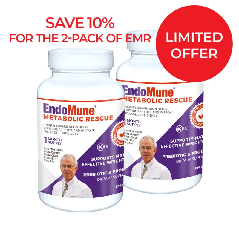 EndoMune Metabolic Rescue Twin Pack discount