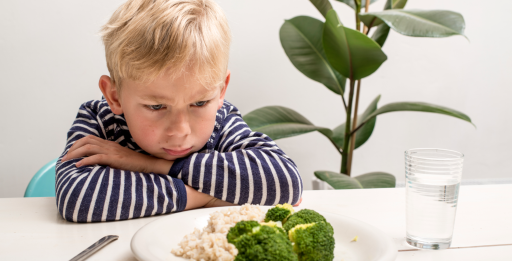 Picky Eater Child Refusing To Eat