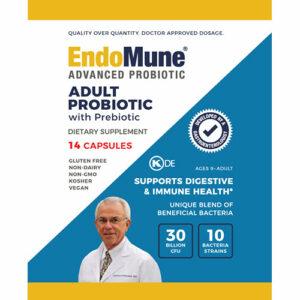 EndoMune Adult Probiotic 14 day Travel Pack Information