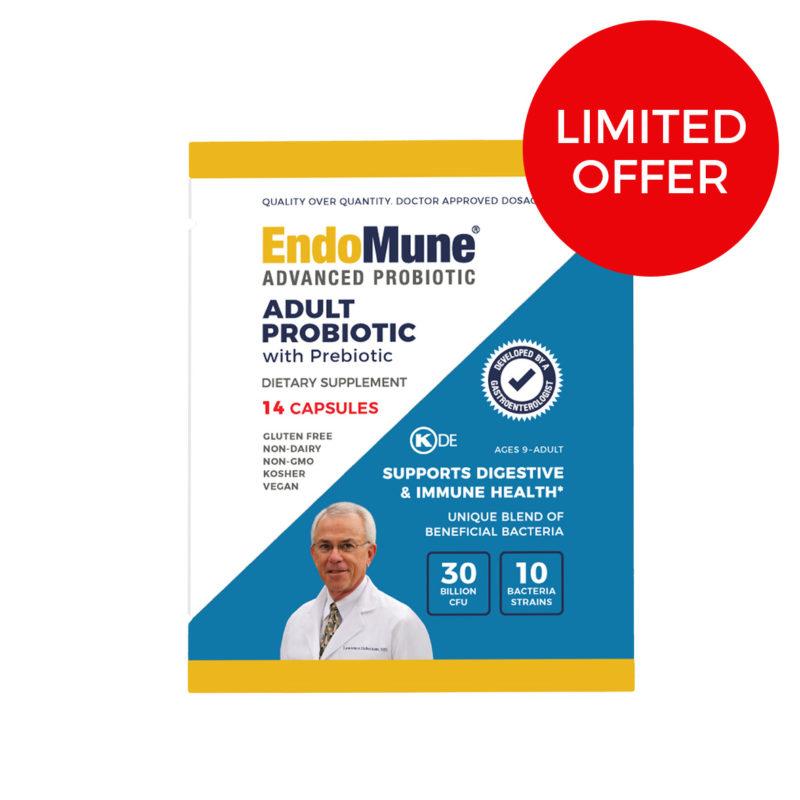 EndoMune Adult Probiotic 14-Count Limited Offer