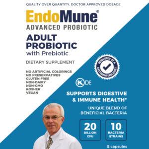 EndoMune Adult Probiotic Sample front cover