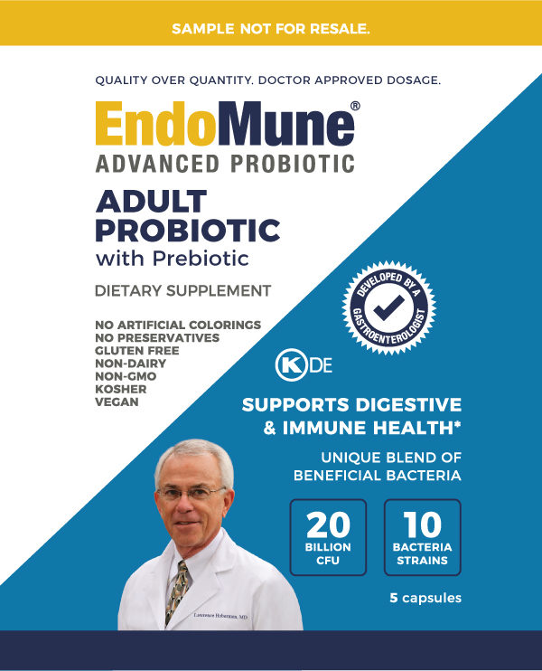 EndoMune Adult Probiotic Sample front cover