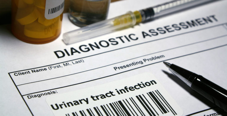Image of test results for Urinary Tract Infection