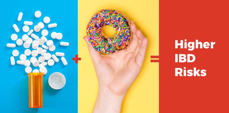 Prescription medicine + donuts = higher IBD risks