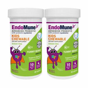 EndoMune Chewable Probiotic Bottles