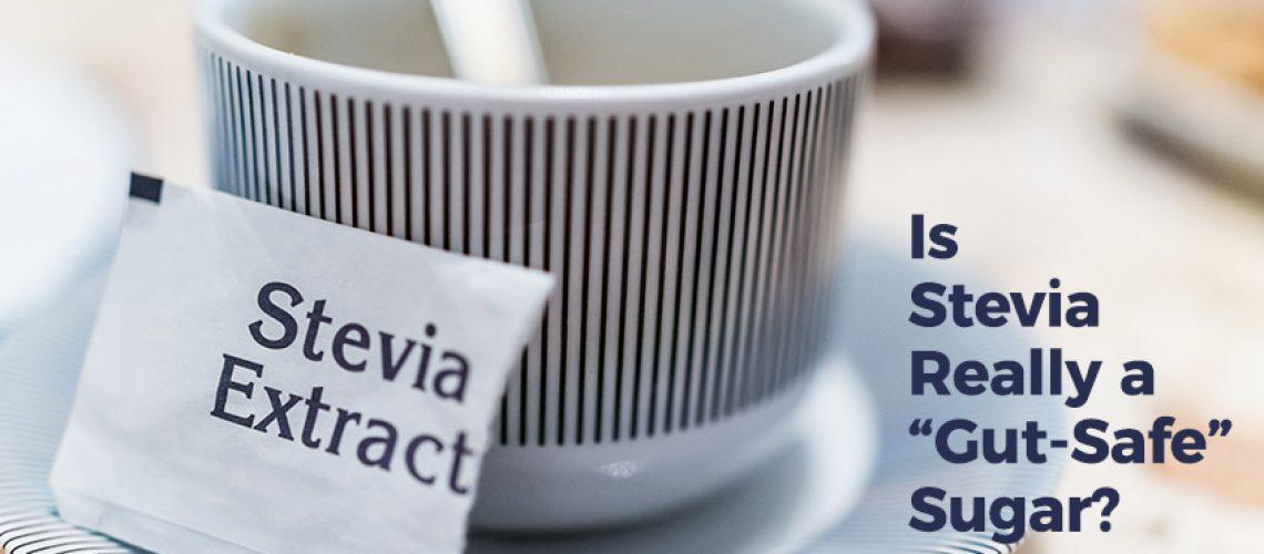 Text over coffee mug: Is Stevia Really A