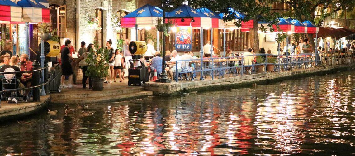 downtown san antonio by the riverwalk